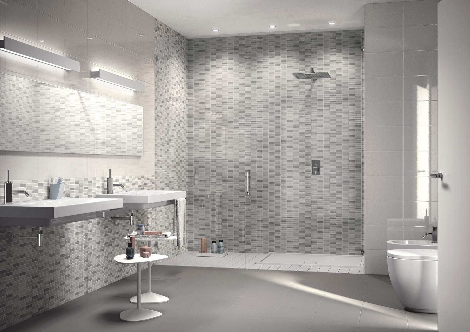 Piastrelle A Mosaico Per Bagno candiano venceramica - mosaico bagno, una scelta raffinata
